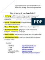 Interest Groups Notes