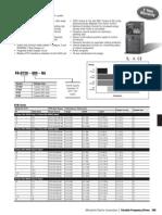 Variador Mitsubishi D700 info