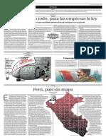 Perú, País Sin Mapa