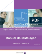 Manual Omni PCX  Portugues
