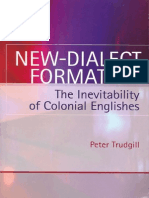 Peter Trudgill New-dialect Formation 2004