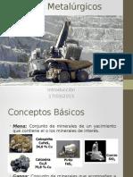Procesos Metalúrgicos Clase 1
