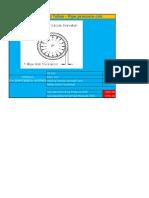 Cálculo Pressão Tubos - Pipe Pressure Calc