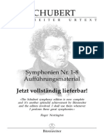 Schubert Symphonien