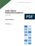 CFW500 - PUMP GENIUS - Manual de Aplicação Para Multibombas SingleDrive R00 P 10002593273
