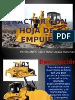 Tractor Con Hoja de Empuje Presentacion