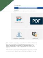 Como Criar Uma Fan Page No Facebook