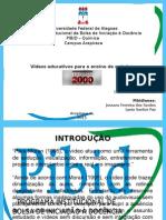 Seminário - Vídeos educativos - análise de vídeo de química telecurso 2000
