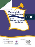 MANUAL DE COMUNICACION PARA ORGANIZACIONES SOCIALES - ENERO 2010 - GI - PORTALGUARANI