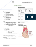 ECG Worksheet