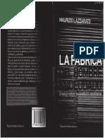 Lazzarato, Maurizio - La Fabrica Del Hombre Endeudado