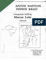 Tres Cantos Nativos (SATB)