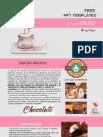 Sugar Lollipops Food PowerPoint Templates Widescreen