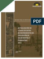 Base de Datos 2012