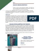 Informe Final de Laboratorio Mecanica de Suelos