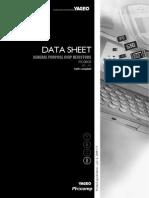data sheet yageo