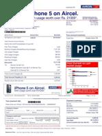 Aircel Nov Bill