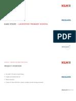 Lauriston Primary School Case Study