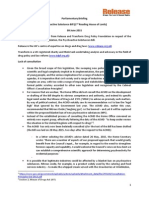 Pyschoactive Substances Bill Briefing