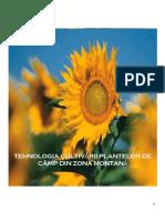 Tehnologia Cultivării Plantelor de Câmp Din Zona Montană