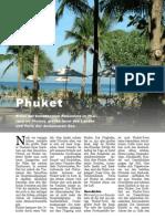 Phuket, Thailands Perle der Andamanen See