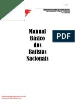 Manual Básico Dos Batistas Nascionais