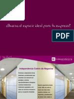 Independencia Centro de Negocios Presentación Corporativa 2015