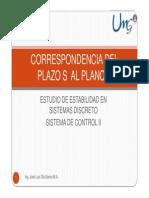 Clase 7 Correspondencia Del Plazo s a Plano z