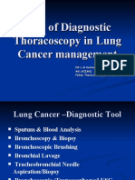 Diagnostic Thoracoscopy (VATS) in Lung Cancer