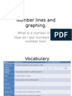 number lines and graphing