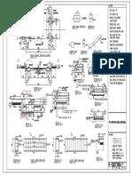 PONDASI Truck Scale Gewinn Ukuran 12Mx3,4M Kap.60 Ton - Model Atas Tanah (Tumpuan 6 Loadcell) as 770mm-Print Out A3 - Ok