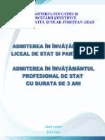 Brosura Admitere 2015-2016