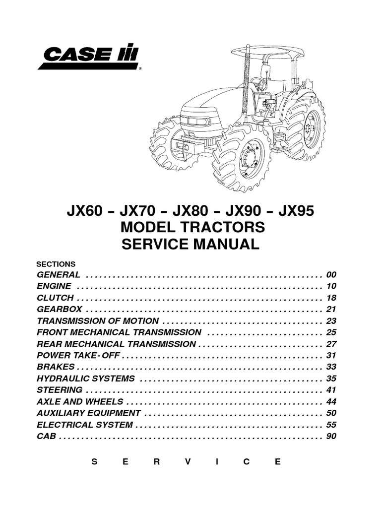 1512132297?v=1 jx service manual transmission (mechanics) manual transmission Thermostat Wiring Diagram at gsmportal.co