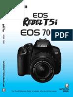 Rebel T5I-700d Owners Manual-En