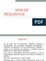 1. Ingenieria de Requisitos