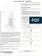 RS 20-043 Discone Antenna