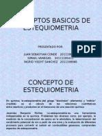 Conceptos Basicos de Estequiometria