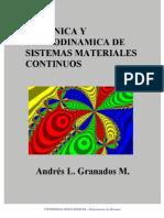 Mecanica y Termodinamica de Sistemas Materiales Continuos