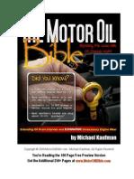 The Motor Oil Bible - Michael Kaufman