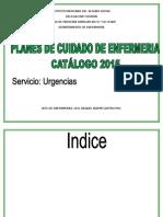 Catalogo de Urgencias Places 2015