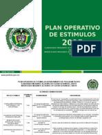 Plan Operativo de Estimulos Corregido Mediante Acta Nro 374 Del 180315
