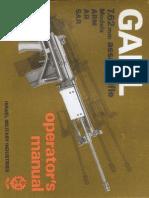 1982 Galil Manual