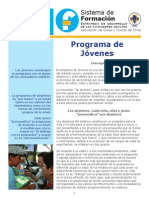 3- Programa de Jóvenes
