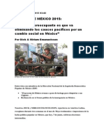 REPORTAJE MÉXICO 2015
