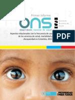 Informe de Mortalidad en Colombia