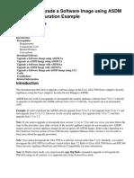 Cisco ASA Software Updgrade Using ASDM or CLI Config