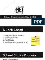 school choice for may 4 parent meeting