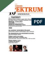 Flyer - Zurich Music School 2008