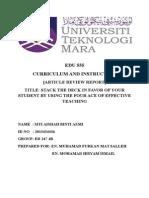 edu 555 article review report