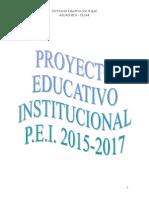 NUEVO PEI 2014-2017, Proyecto Compartir